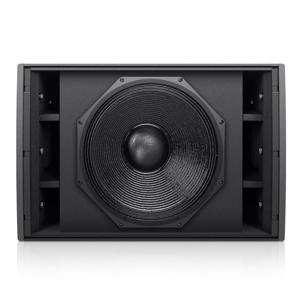 "Sound Town ZETHUS-IP115S ZETHUS Series 15"" 1400W Weatherproof/Waterproof Passive Line Array Subwoofer with 15"" Aluminum Woofer and 4"" Voice Coil, Black - without Front Grille"