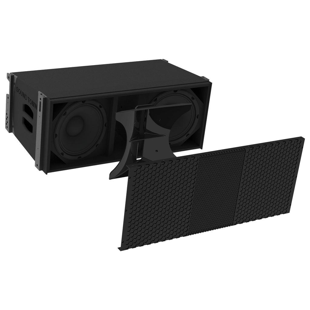 ZETHUS Series ZETHUS-210B Line Array PA Speakers - 3D Model