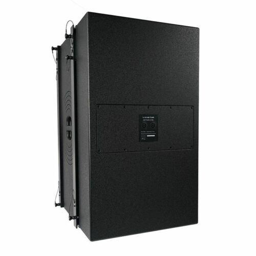 "Sound Town ZETHUS-215S ZETHUS Series Dual 15"" 1600W Line Array Subwoofer, Black - Right Back Panel"