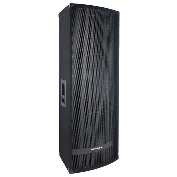 "METIS-215<br/>METIS Series Dual 15"" 1400W 2-Way Full-range Passive DJ PA Pro Audio Speaker with Titanium Compression Driver for Live Sound, Karaoke, Bar, Church"