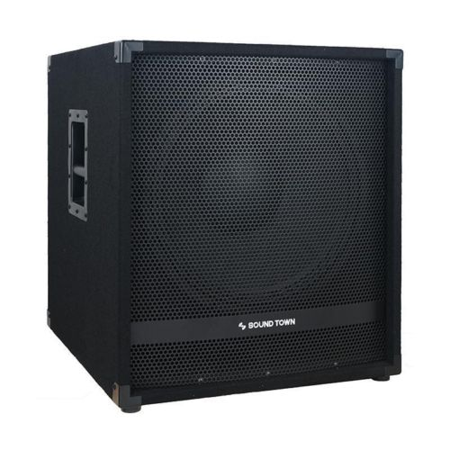 "METIS-18SPW<br/>METIS Series 2000 Watts 18"" Active Powered Subwoofer with DSP, DJ PA Pro Audio Sub with 4 inch Voice Coil"