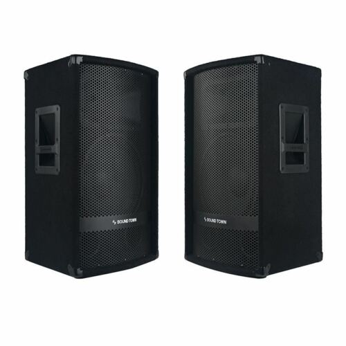 "METIS-112-PAIR<br/>METIS Series 2-Pack 12"" 600W 2-Way Full-range Passive DJ PA Pro Audio Speaker with Compression Driver for Live Sound, Karaoke, Bar, Church"