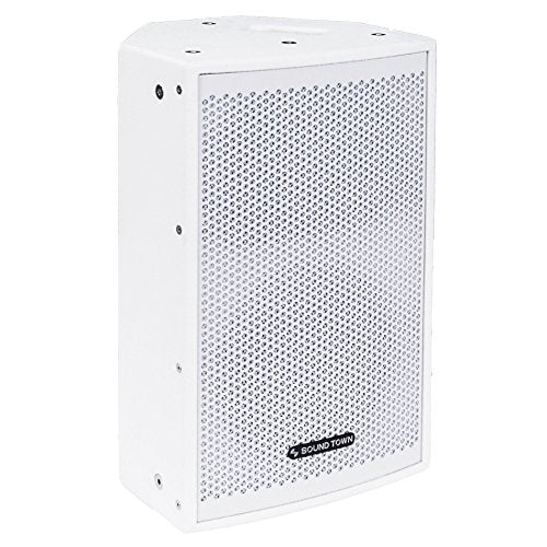 "CARME-108WV2 <br/> CARME Series 8"" 350W 2-Way Professional PA DJ Monitor Speaker, White w/ Compression Driver for Installation, Live Sound, Karaoke, Bar, Church"