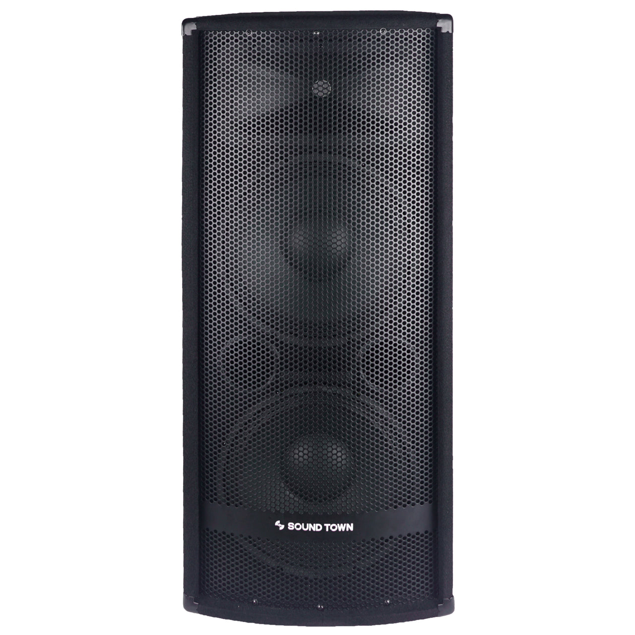 "METIS-212<br/>METIS Series Dual 12"" 1200W 2-Way Full-range Passive DJ PA Pro Audio Speaker w/ Titanium Compression Driver for Live Sound, Karaoke, Bar, Church"