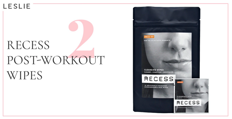 RECESS Post-Workout Face and Body Cleansing Wipes, by Cupcakes and Cashmere