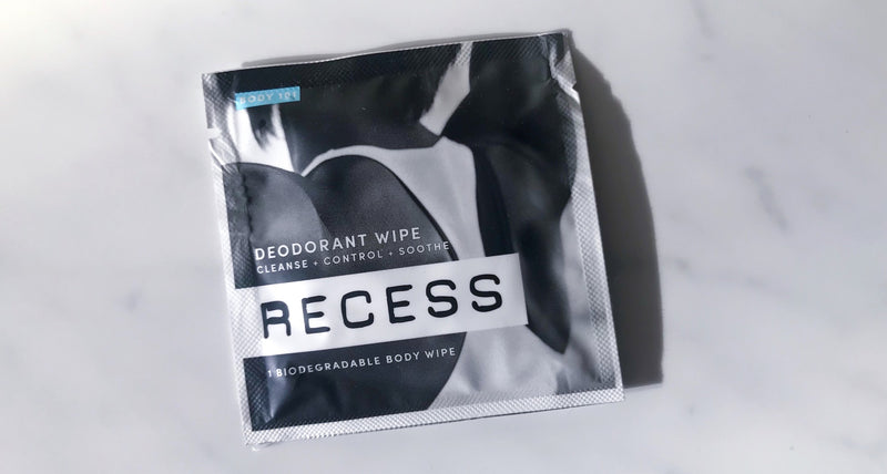 Body 101: Aluminum Free Deodorant Wipes