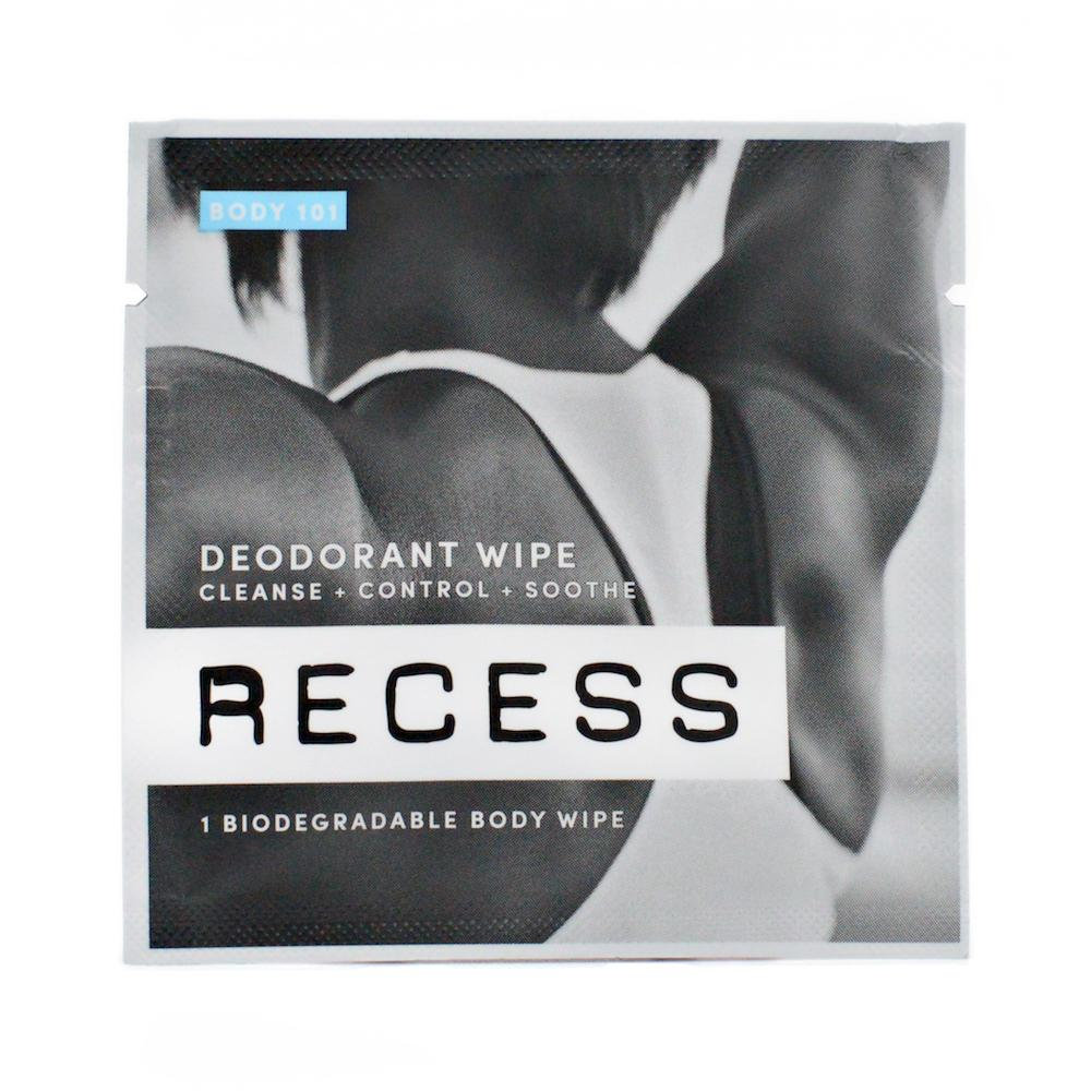 BODY 101: Deodorant Wipes (Pack of 15)