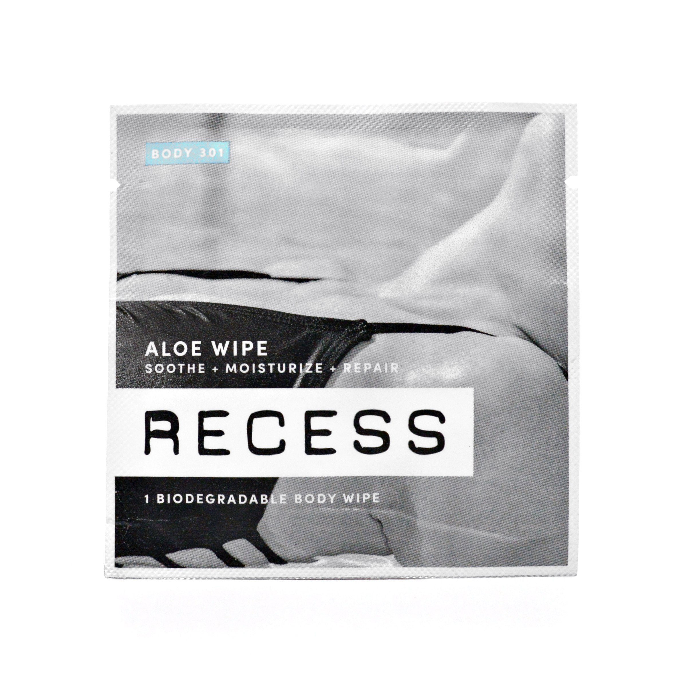 BODY 301: Aloe Wipes (Pack of 15)