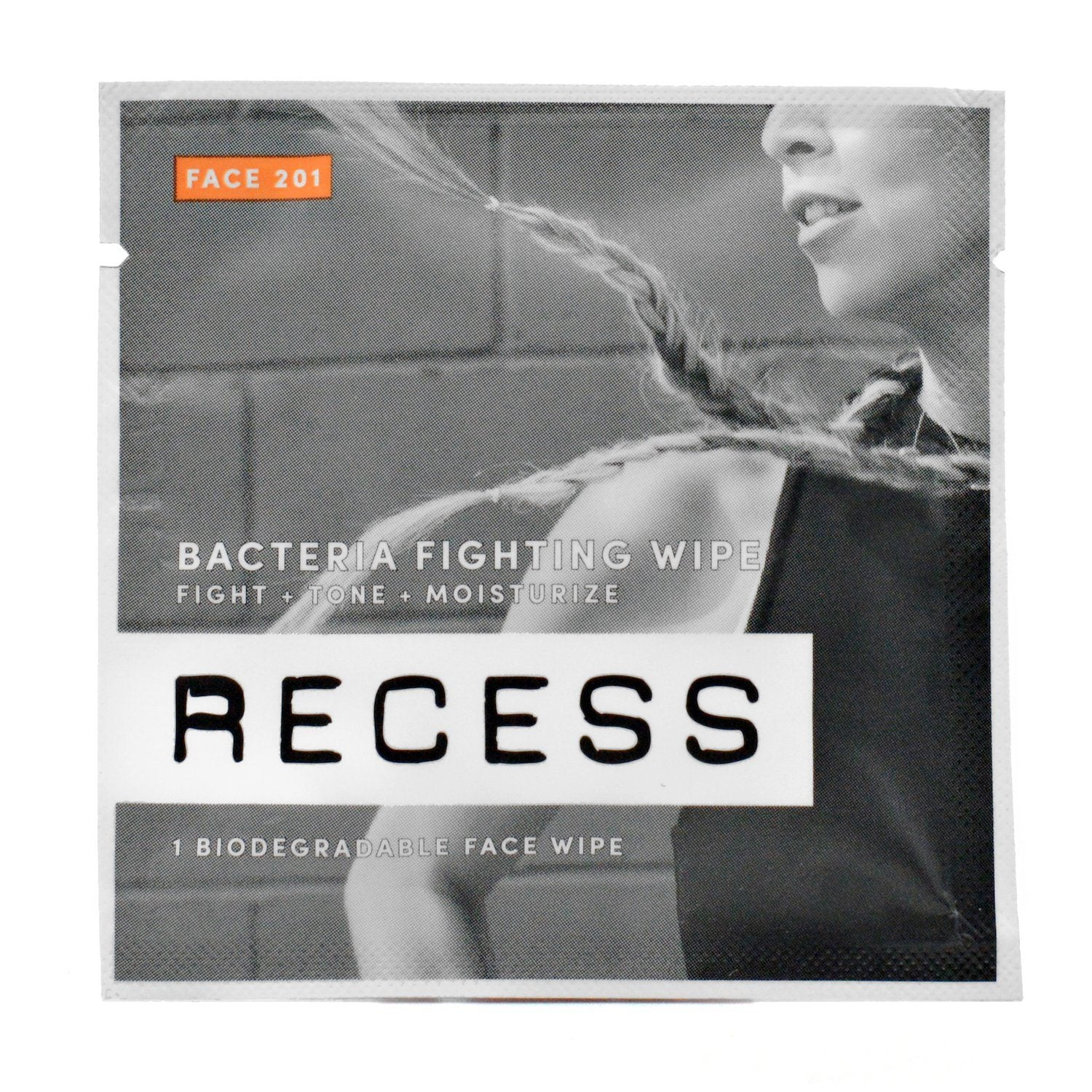 FACE 201: Bacteria Fighting Wipes (Pack of 15)
