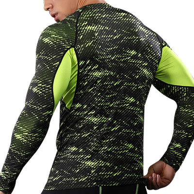 Pixelcamo fluo - Manches longues