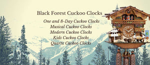 Cuckoo Clocks for Young and Old