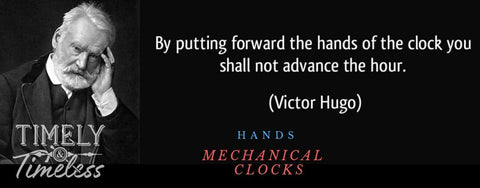 Clock Hands - Mechanical Movements