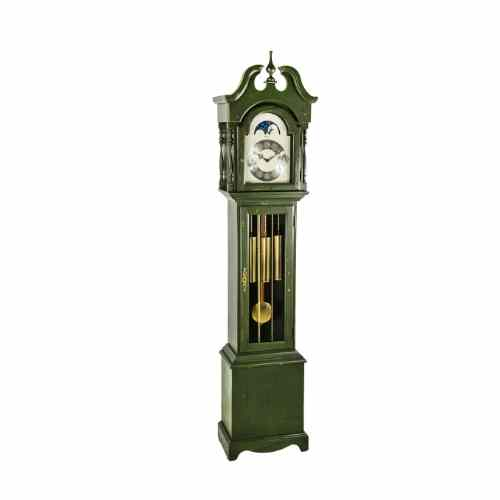 Hermle ALEXANDRIA Grandmother Clock HNA010890DG0451, Green