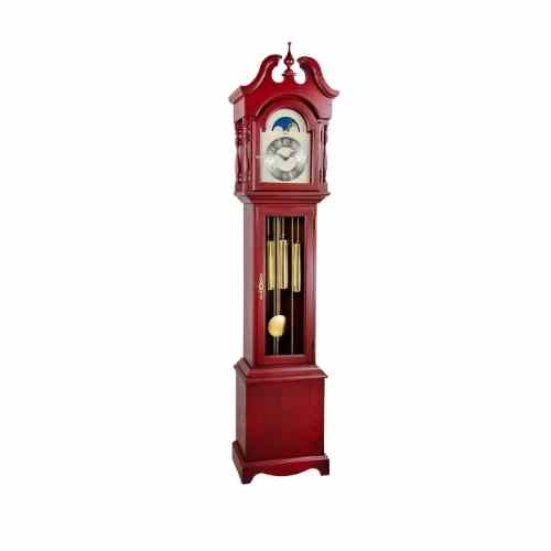 Hermle ALEXANDRIA Grandmother Clock HNA010890RD0451, Red