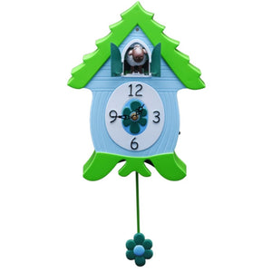 EweCoo, Sheep CooClock by HeadsUp, Xanadoo, Animated Animal Character Quartz Cuckoo Clock