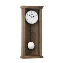 Hermle ARDEN Modern Quartz Regulator Wall Clock, Dark Oak Model 71002042200