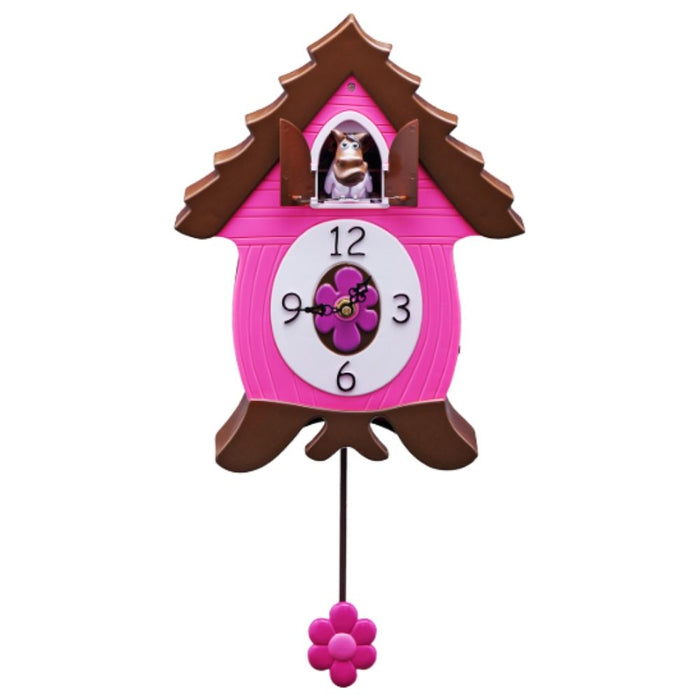 WinnyCoo,  Horse CooClock by HeadsUp, Xanadoo, Animated Animal Character Quartz Cuckoo Clock