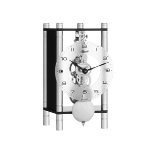 Hermle KERI Mechanical Table Clock  23036740721, Black Finish
