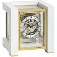 Kieninger 500 Limited Edition TETRIKA with Triple Chime MM 1266-95-01, White Piano Finish, Brass
