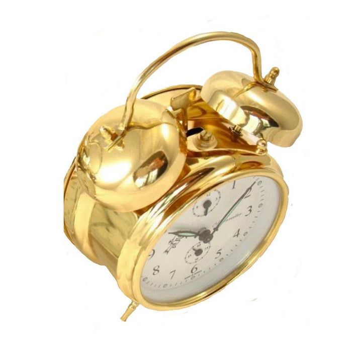 Sternreiter Double-Bell Alarm Clock MM 111 602 00, Gold