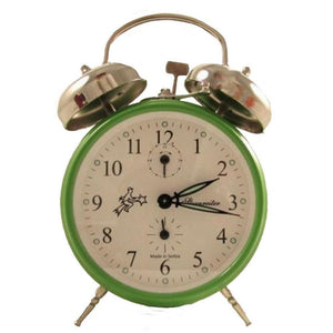 Alarm Clock - Sternreiter Double-Bell MM 111 602 34, Green