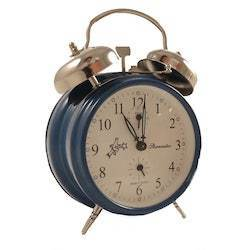 Alarm Clock - Sternreiter Double-Bell MM 111 602 36, Blue