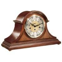 Hermle AMELIA Mechanical Mantel Clock 21130N90340, Cherry