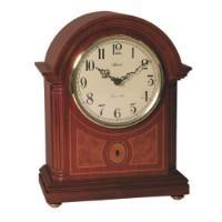Classic Mantel Clocks - Hermle CLEARBROOK Quartz Mantel Clock #2287707Q, Mahagony