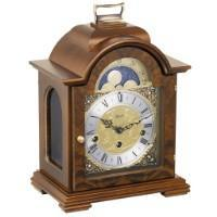 Classic Mantel Clocks - Hermle DEBDEN Mechanical Table Clock #22864030340, Walnut