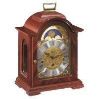 Hermle DEBDEN Mechanical Table Clock #22864070340, Mahogany