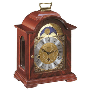 Classic Mantel Clocks - Hermle DEBDEN Mechanical Table Clock #22864070340, Mahagony