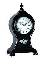 Classic Mantel Clocks - Hermle OAK RIDGE Mantel Clock #22926742114, Black Satin Finish