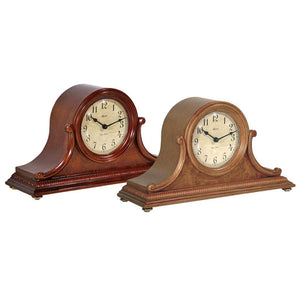 Classic Mantel Clocks - Hermle SCOTTSVILLE Quartz Mantel Clock #21132I92114, Oak
