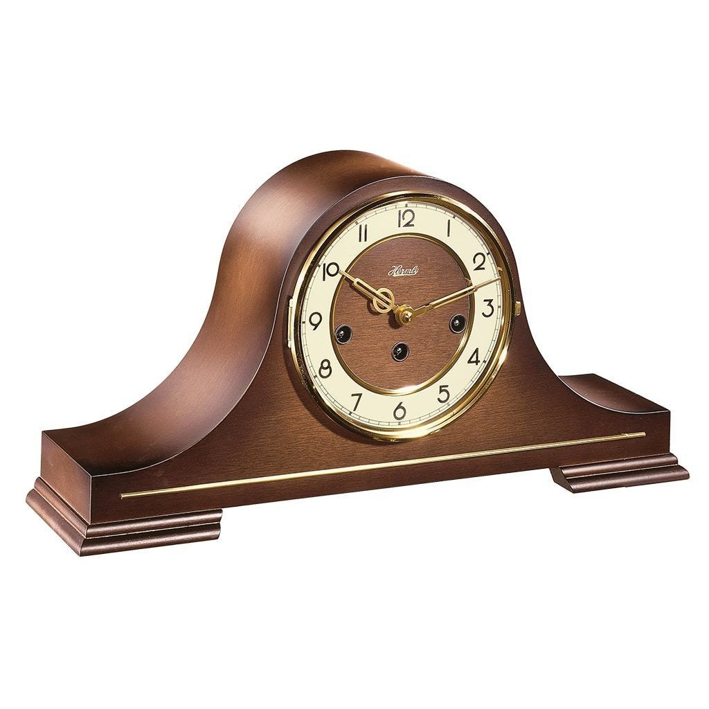 Antique tambour mantel clocks