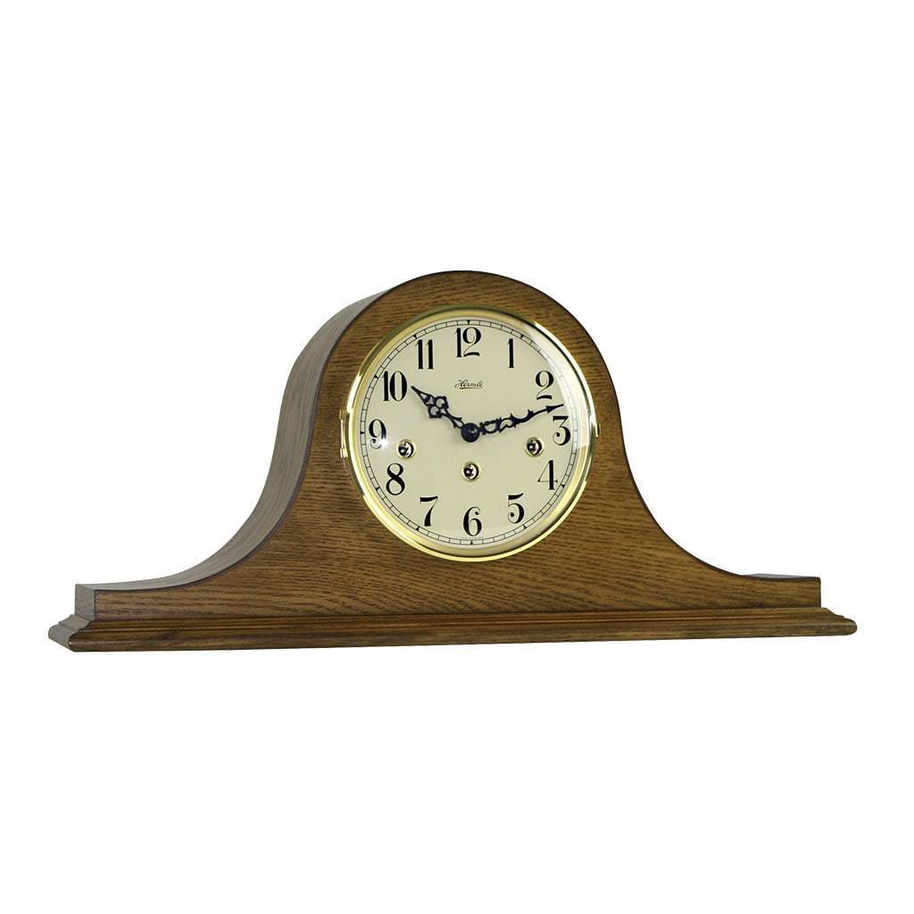 Hermle SWEET BRIAR Mechanical Clock 21135040340, Dark Oak