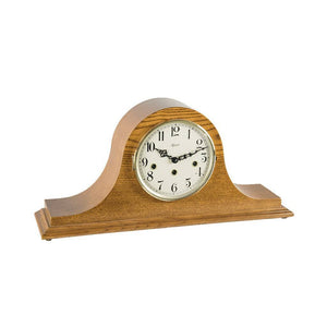 Classic Mantel Clocks - Hermle SWEET BRIAR Mechanical Mantel Clock 21135I90340, Light Oak