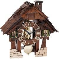 Cuckoo Clock - Hermle Black Forest ELSA Cuckoo Clock In Brown, With Strike On The Hour, 23030030711