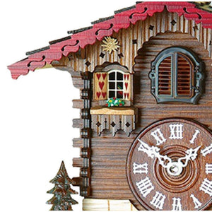 Cuckoo Clock - Hermle SIMONSWALD Black Forest Cuckoo Clock #46000 By Trenkle Uhren