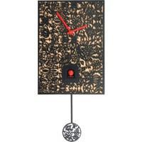 Cuckoo Clock - Romba Filigree SNQ2 Modern Black Forest Cuckoo Clock, 3rd Generation Rombach & Haas