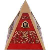 Romba Pyramid PYR3 Modern Black Forest Cuckoo Clock, 3rd Generation Rombach & Haas