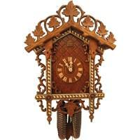 Rombach & Haas Bahnhäusle Black Forest Cuckoo Clock, 8-Day, Half and Full Hour Call, #8259