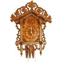 Cuckoo Clock - Rombach & Haas Quail Bahnhäusle Black Forest Mechanical Cuckoo Clock #1459