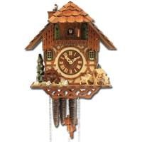 Cuckoo Clock - Rombach & Haas (Romba) CHIMNEYSWEEP Model 1316 1-Day Black Forest Cuckoo Clock