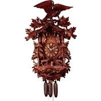 Rombach & Haas (Romba) Model 8397 FOREST SCENE Grand Black Forest Cuckoo Clock, Very Large and Intricate