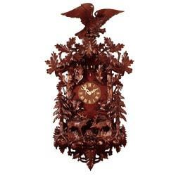 Rombach & Haas (Romba) Model 8399 FOREST SCENE Grand Cuckoo Clock, Black Forest Masterpiece of Impressive Presence