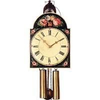 Rombach & Haas Shield Black Forest Clock Model 3402, 8-Day, Hand-painted by Connie Haas
