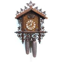 Sternreiter Bahnh_usle Black Forest Mechanical Cuckoo Clock #8229*