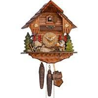 Cuckoo Clock - Sternreiter Beer Drinker Black Forest Mechanical Cuckoo Clock #1248