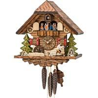 Cuckoo Clock - Sternreiter Kissing Couple Black Forest Mechanical Cuckoo Clock #1315