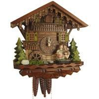 Cuckoo Clock - Sternreiter Kissing Couple Black Forest Mechanical Cuckoo Clock #1392